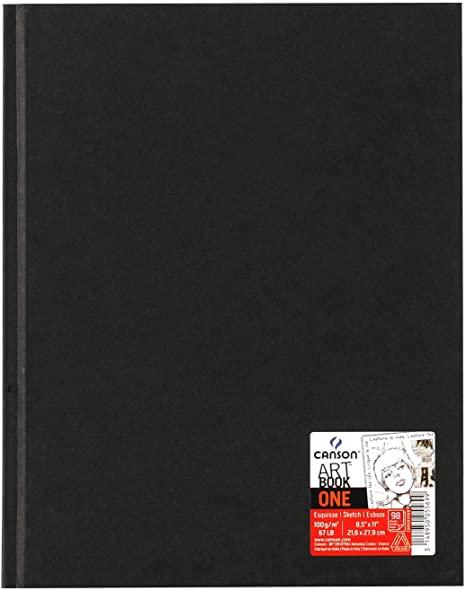 Sketchbook Artbook One A4 98fls 100g Canson 216x 279mm