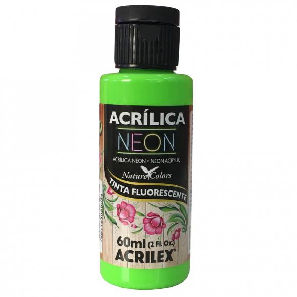 Tinta Acrílica Neon 60ml Acrilex