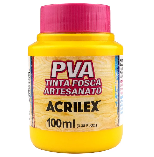 Tinta Fosca Para Artesanato Pva 100ml