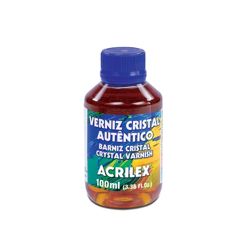 Verniz Cristal Autêntico 100ml Acrilex