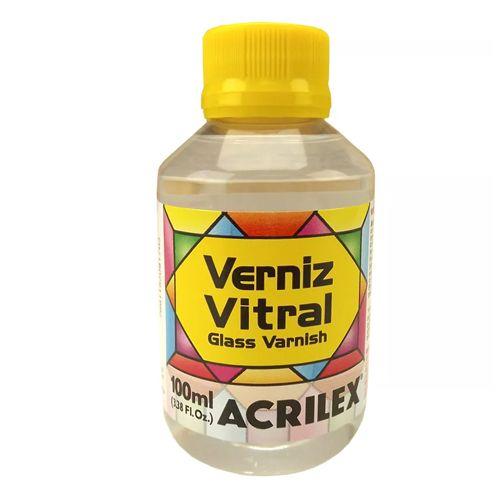 Verniz Vitral Incolor 100ml Acrilex