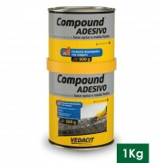 COMPOUND ADESIVO 1KG (A+B) VED
