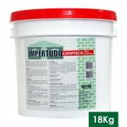 IMPERTUDO CHAPISCO 100% ACRILICO - BALDE 18 KG