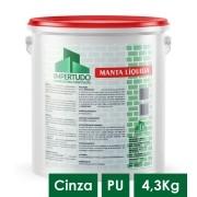 IMPERTUDO MANTA LIQUIDA PU CINZA G 4,3 KG
