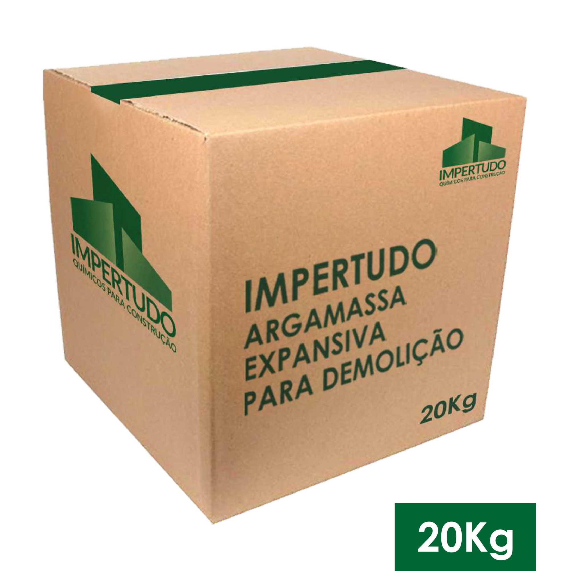 ARGAMASSA EXPANSIVA PARA DEMOLICAO CX 20 KG