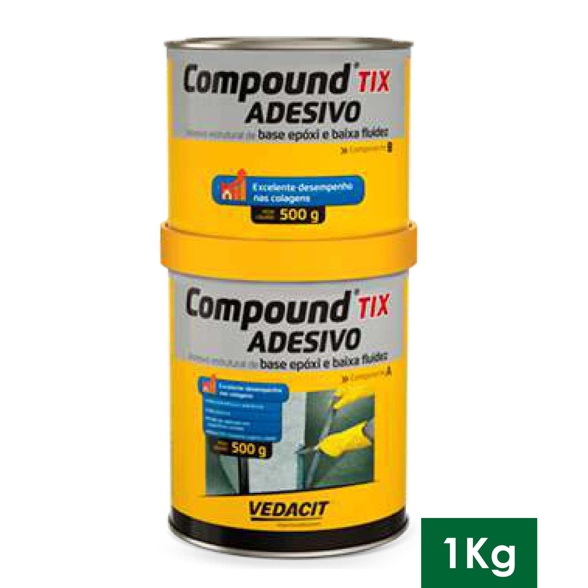 COMPOUND TIX ADESIVO 1 KG