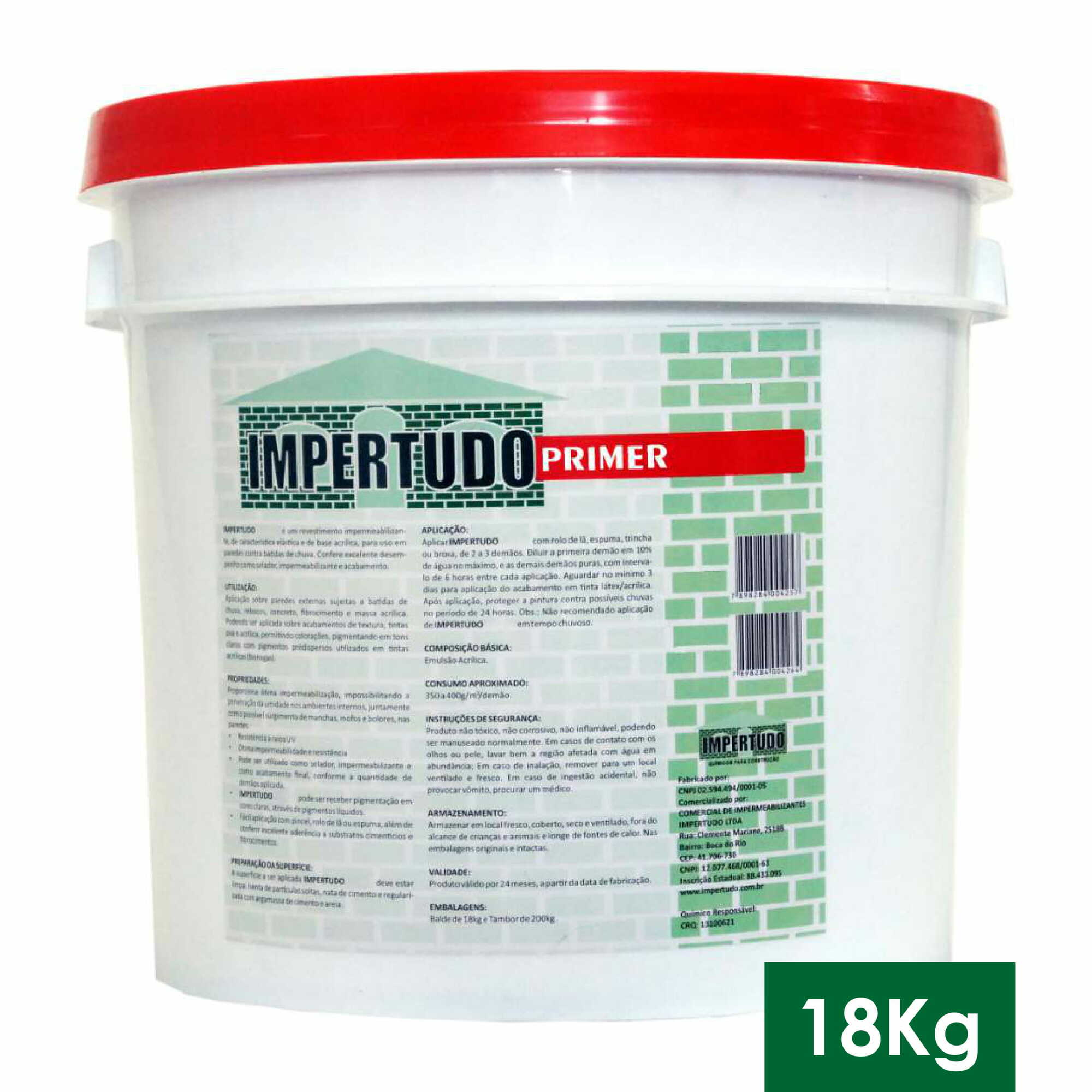 IMPERTUDO PRIMER - BALDE 18 KG