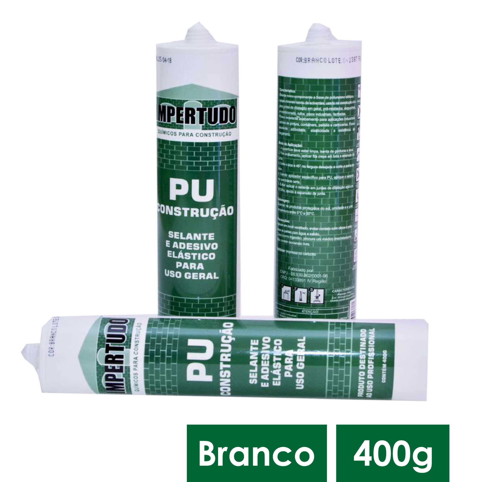 IMPERTUDO PU CONSt BRANCO 400G