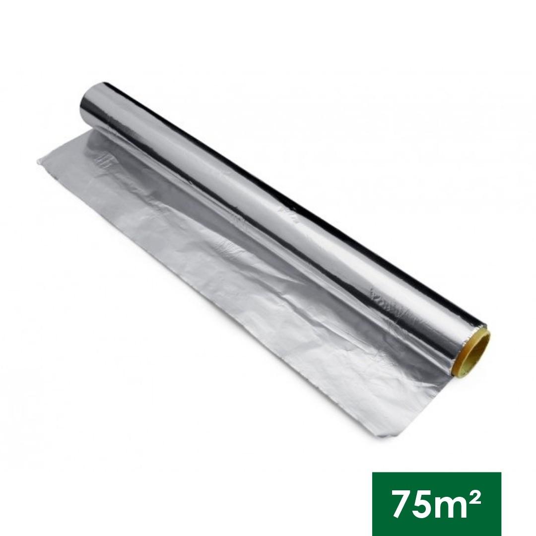ISOLAMENTO TERMICO 1 FACE IMPERTUDO - 75 M2 ( 1,20 LARGURA)