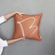 Almofada Borboleta Terracota| 50x50cm