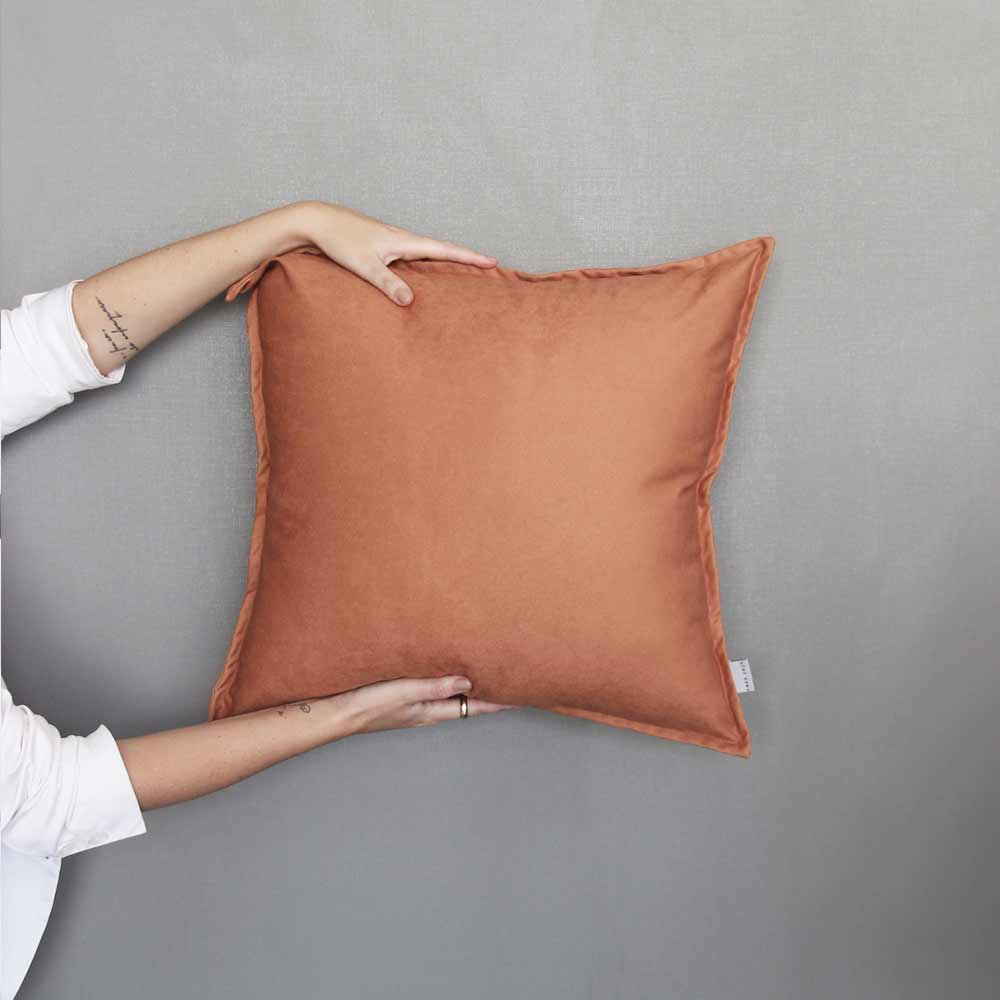 Almofada Aba Terracota| 50 x 50 cm