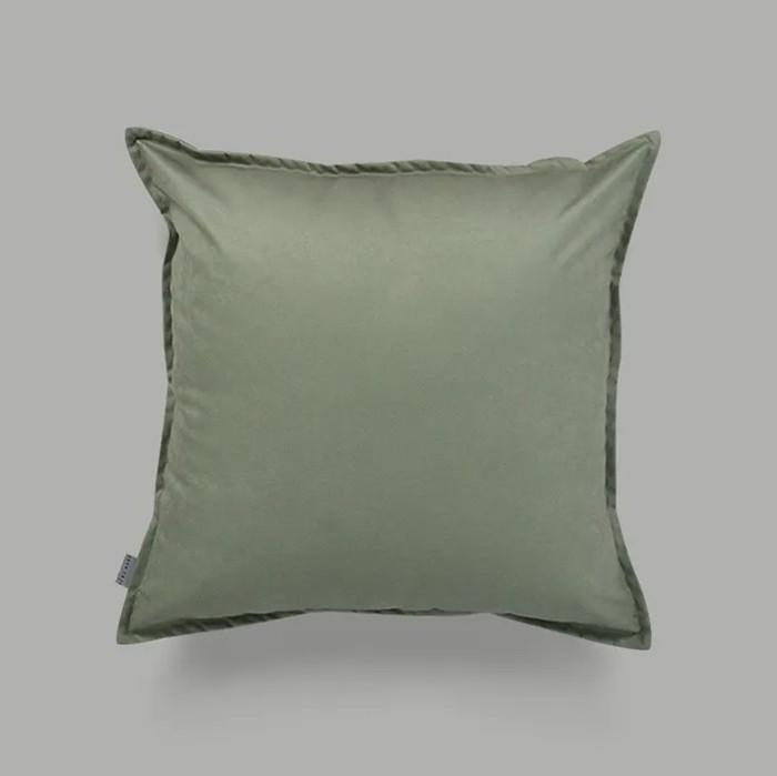 Almofada Aba Verde Clara| 50 x 50 cm