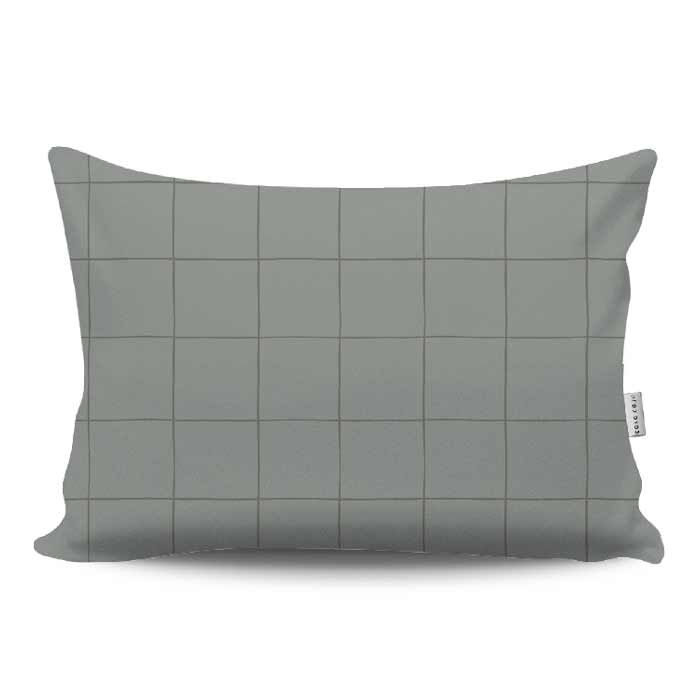 Almofada Baguete Grid | 50 x 30 cm
