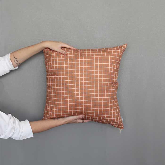 Almofada Quadra Brick | 50x50cm