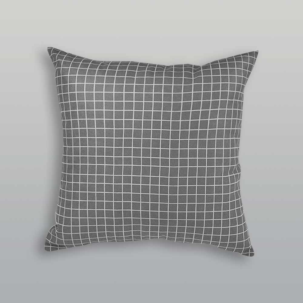 Almofada Quadra New Grey| 50x50cm