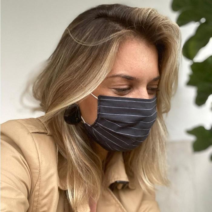 Máscara de Proteção Reutilizável | 100% algodão