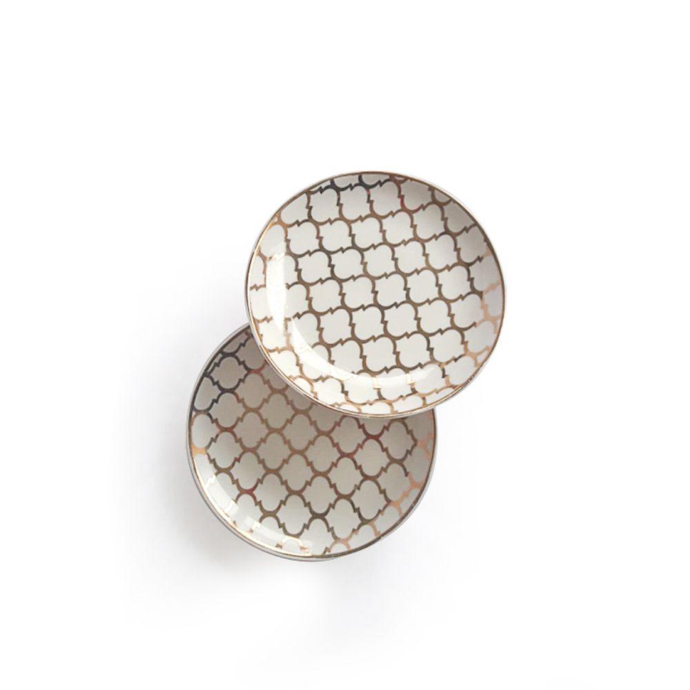 Mini Prato Cerâmica Bijoux | 11 x 11 cm