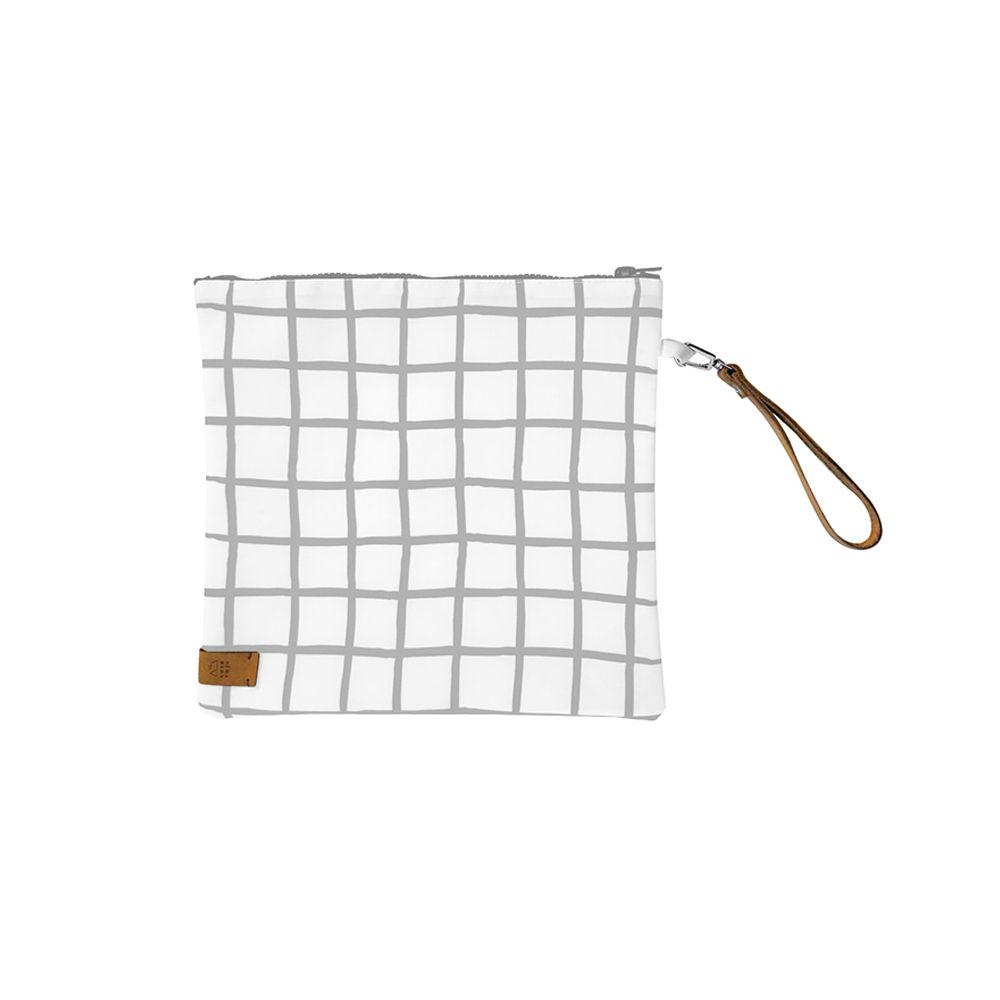 Necessaire Quadrada Unissex | 25 x 25 cm