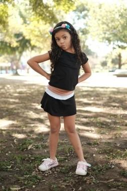 Saia Shorts Doll