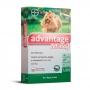 Advantage Max3 - Antipulgas e Carrapatos Cães 01-04Kg