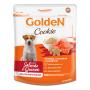 Golden Cookie - Petisco Biscoito Cães Adultos Porte Pequeno Salmão Quinoa 350g