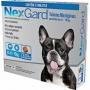 Nexgard - Antipulgas e Carrapatos Cães M 4 a 10 Kg 3 Tabletes