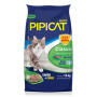 Pipicat Classic - Areia Higiênica Extrafina Gatos 12Kg