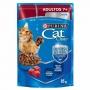 Ração Úmida Sache Purina Cat Chow Adultos 7+ Carne - 85g