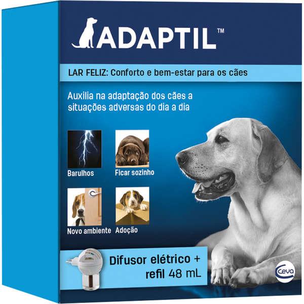 Adaptil Ceva - Replicador Odor Materno Cães Difusor + Refil 48ml
