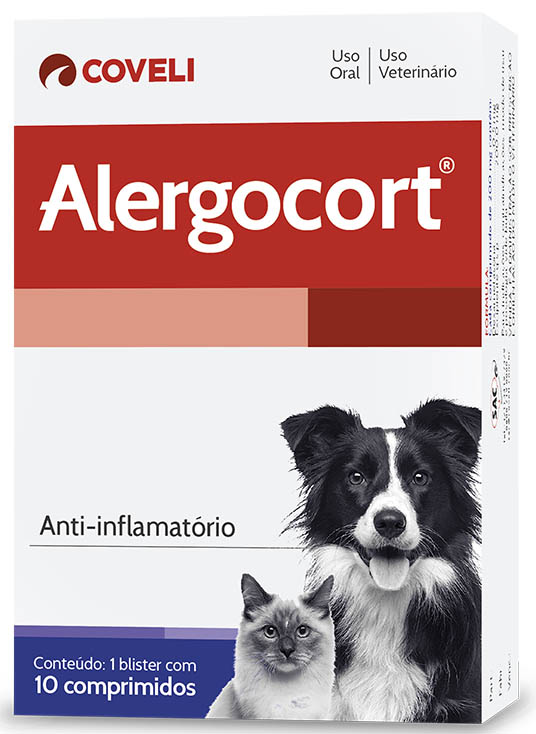 Anti-Inflamatório Alergocort 0,5mg Coveli