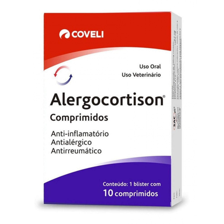 Anti-Inflamatório Esteroidal Alergocortison 0,5mg 10cp