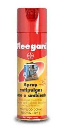Antipulgas E Carrapatos Spray P/ Ambiente Fleegard 300ml