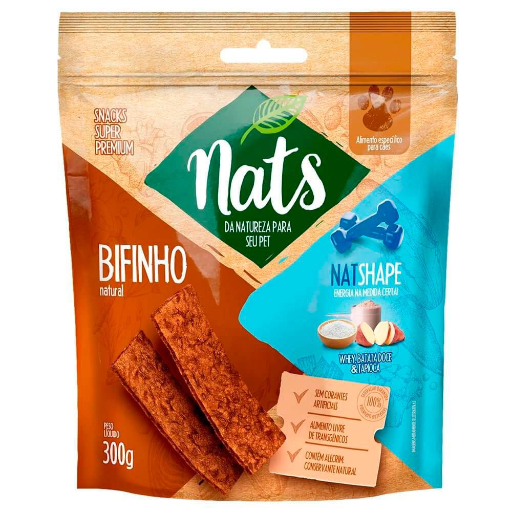 Bifinho Natural Nats Natshape Whey Batata Doce Tapioca - 300g