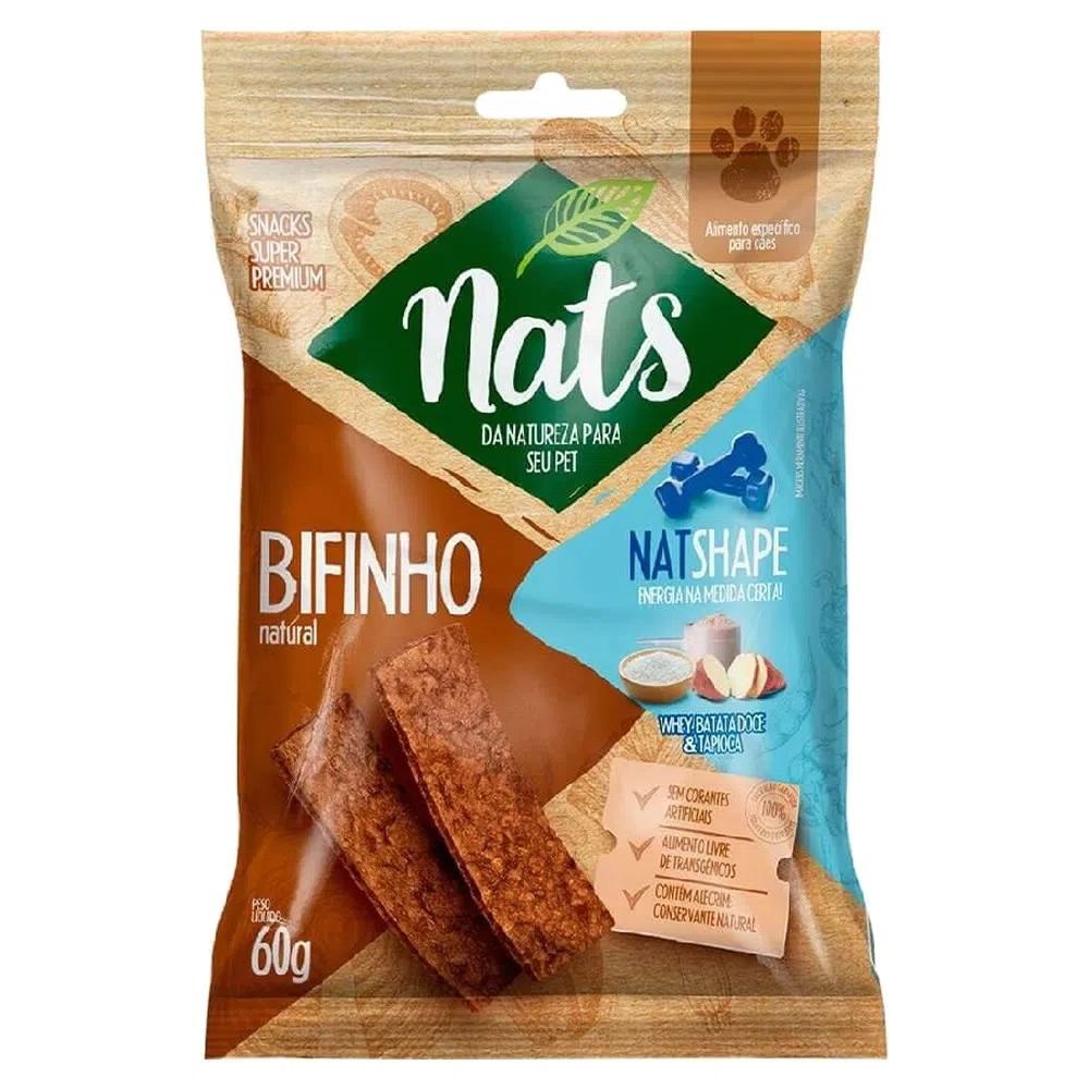 Bifinho Natural Nats Natshape Whey Batata Doce Tapioca - 60g
