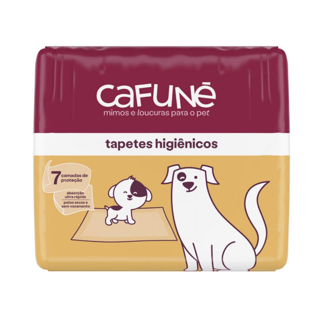 Cafuné - Tapete Higiênico Para Cães 80x60cm 30 Unidades