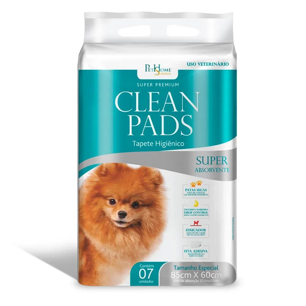 Clean Pads - Tapete Higiênico Para Cães 85x60cm 7 Unidades