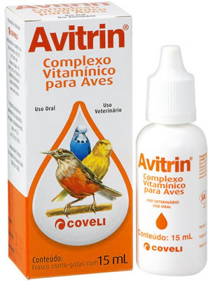 Complexo Vitaminico p/ Aves Avitrin 15ml Coveli