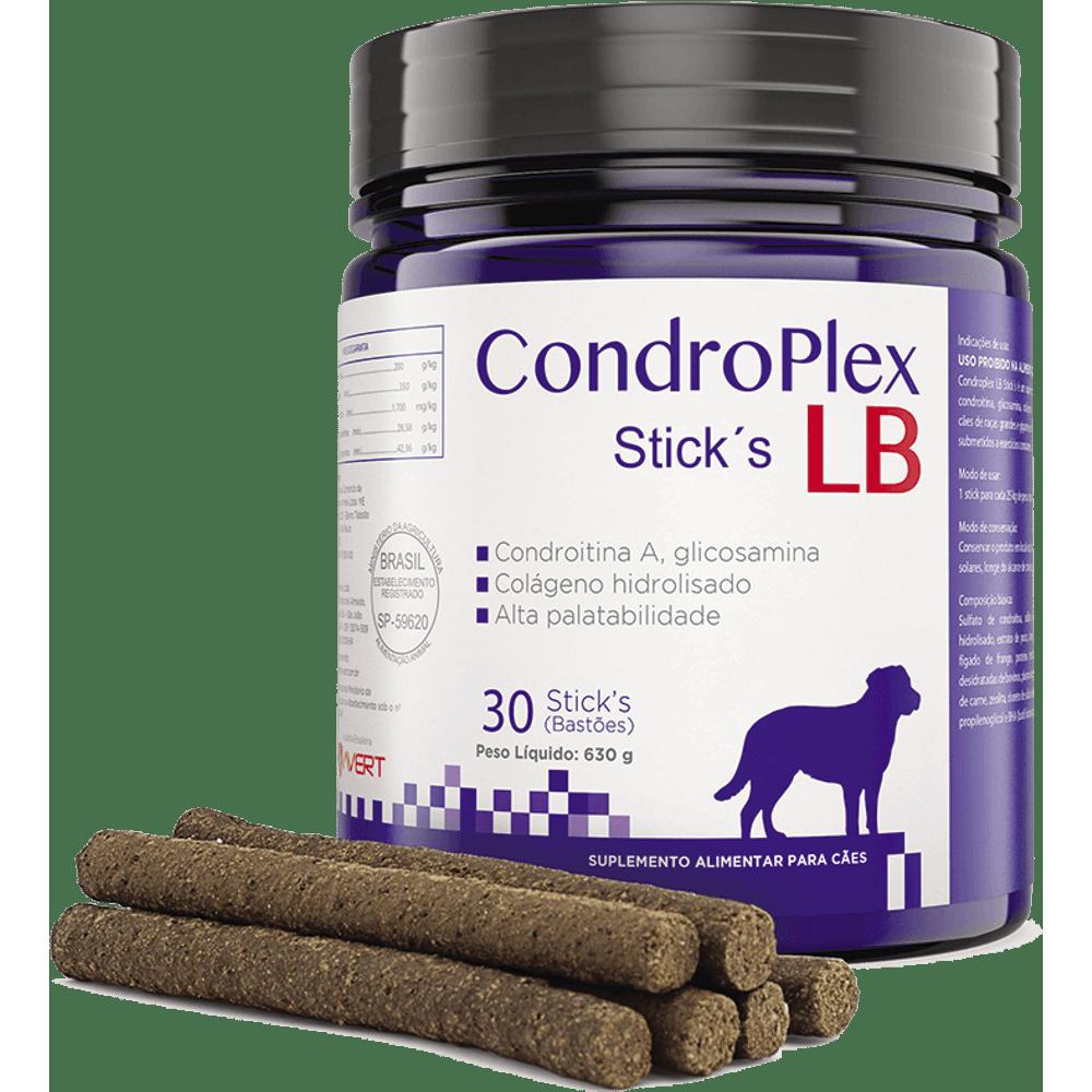 Condroplex Sticks LB - Suplemento Nutricional Cães 630g