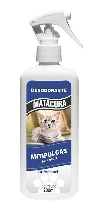 Desodorante Antipulgas par Gatos Matacura 200ml