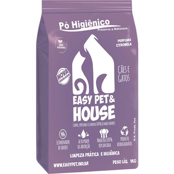 Easy Pet House - Pó Higiênico Citronela 1Kg