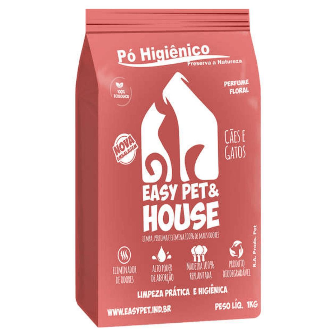 Easy Pet House - Pó Higiênico Floral 1Kg