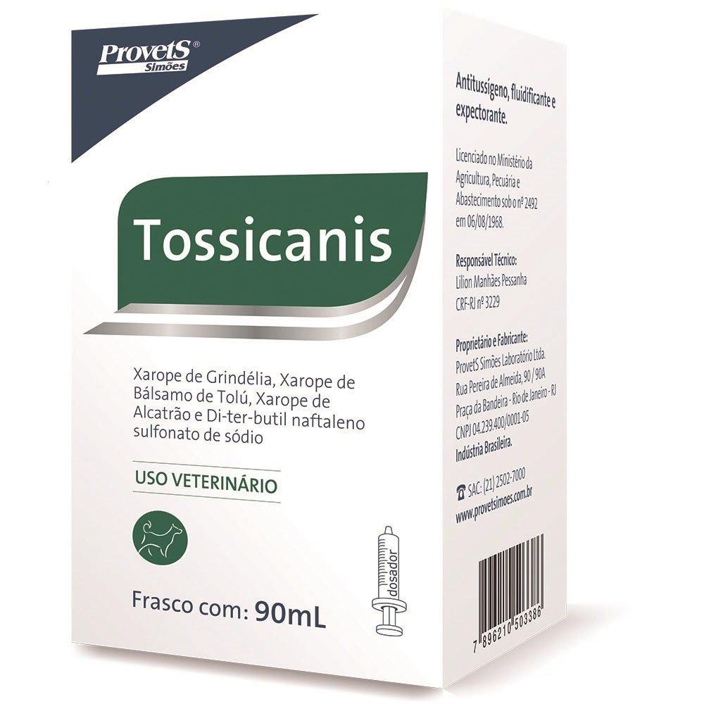 Expectorante Para Cães Tossicanis 90ml