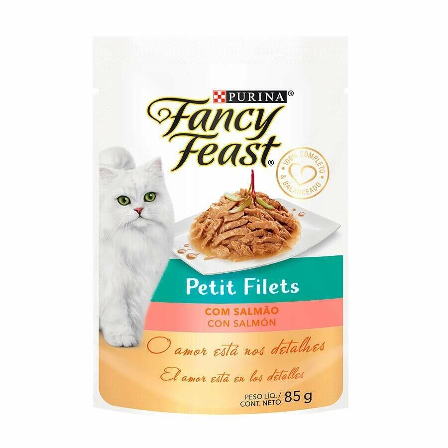 FANCY FEAST Petit Filet Salmao 85g