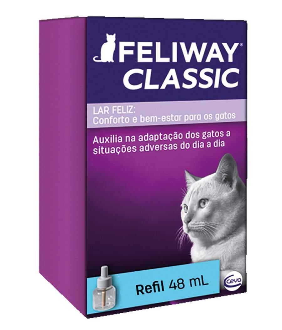 Feliway Classic - Refil Difusor 48ml Educador Gatos