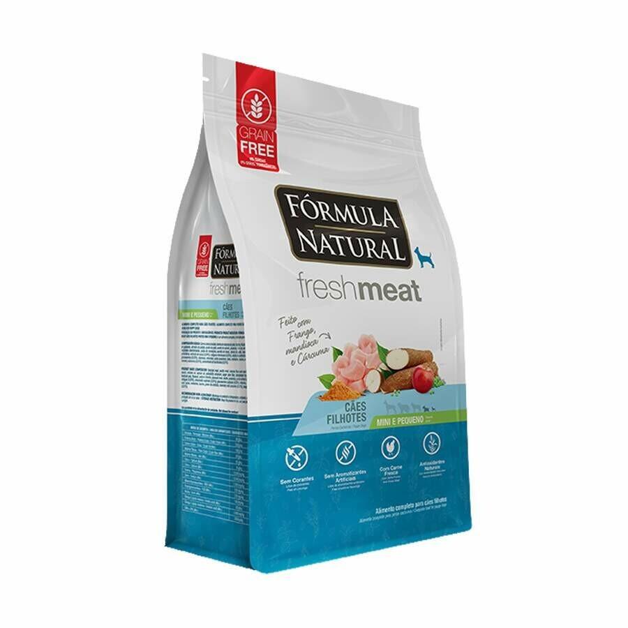 Ração Formula Natural Fresh Meat Filhote Mini/Peq 2,5kg