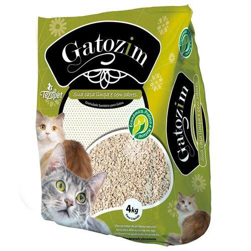 Gatozim Original - Areia Higiênica para Gatos 4Kg