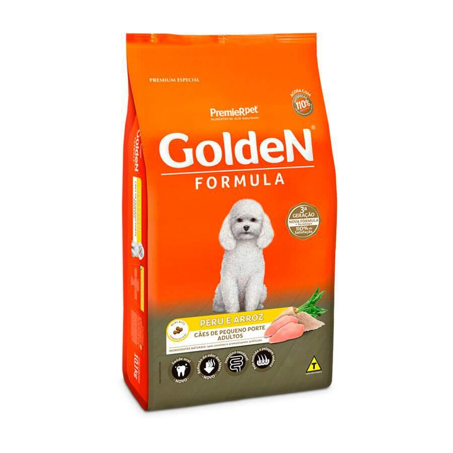 Ração Seca Cães Golden Adulto Peru Miini 10kg