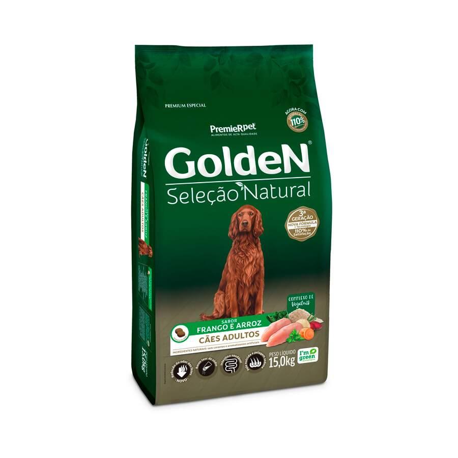 Golden Seleção Natural - Ração Cães Adultos