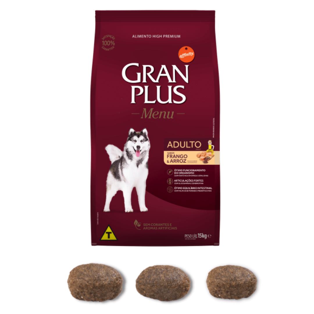 Gran Plus - Ração Cães Adultos Frango 15Kg