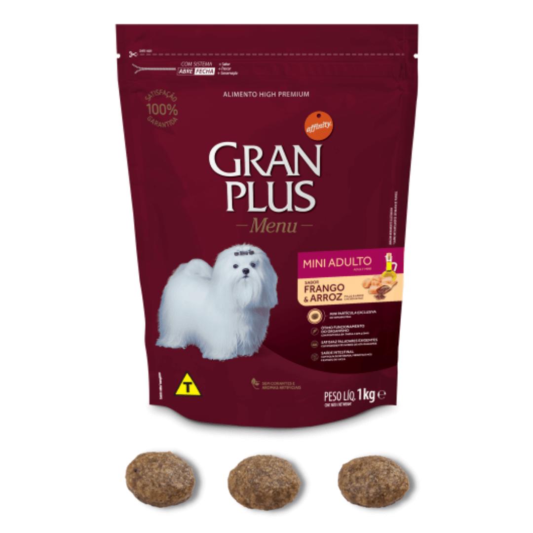 Gran Plus - Ração Cães Raças Mini Frango 1Kg